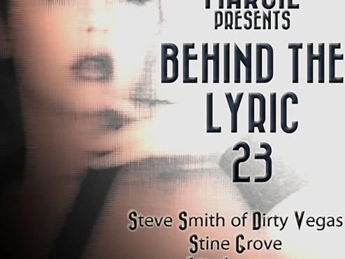 "Stine Grove featuring in Marcie's radio show ""Behind The Lyric"""